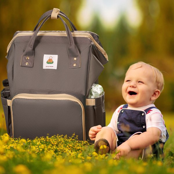 Lazy Monk Diaper Backpack