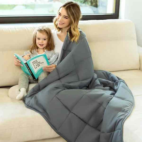 Lazy Monk Organic Weighted Blanket Sample