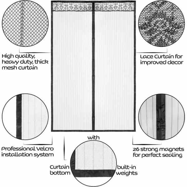 Magnetic Screen Door Specifications
