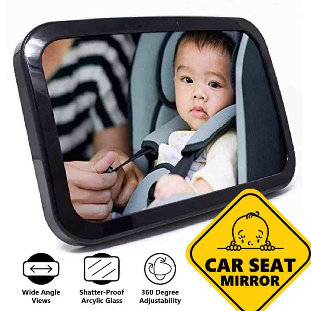 Infant Car Rear Seat Mirror
