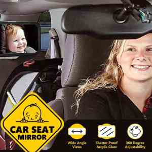 Baby Car Seat Mirror Rear