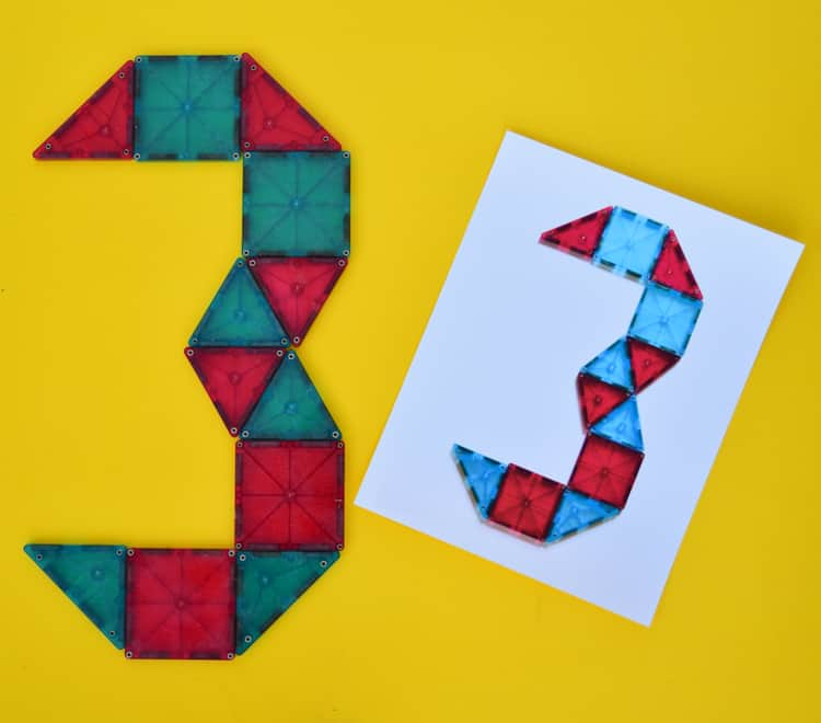 magnetic blocks with numbers