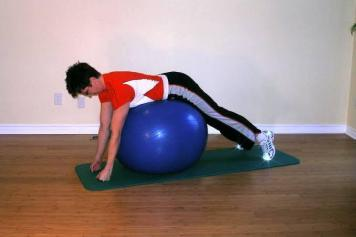 exercise for stability ball