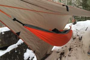 Camping 101_Hammock Camping Winter