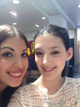 Con Celeste, la maquilladora de CK One Color en El Corte Inglés