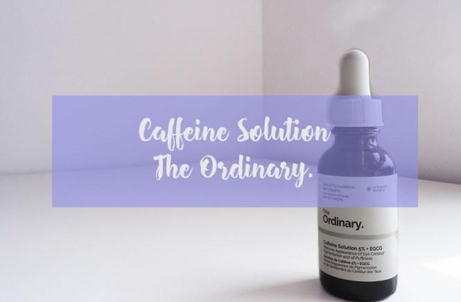 Caffeine Solution - the ordinary -1