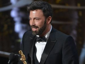 Ben Affleck on Stage for Winning Best Picture (Photo: Robert Deutsch, USA TODAY)