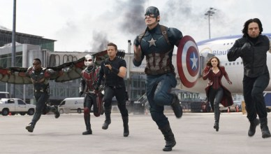 Captain America and his teams fight for what they think is right in Captain America: Civil War