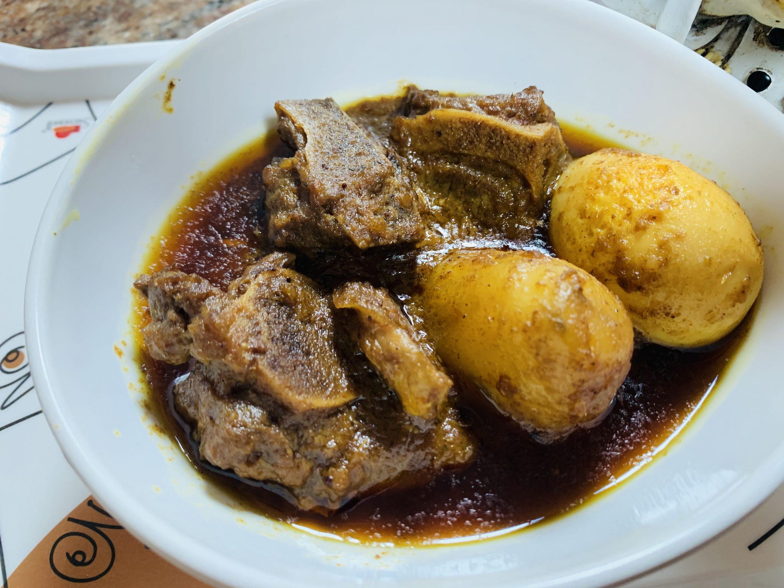 Easy Mutton Curry (Mutton Dak Bungalow)