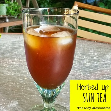 Sun tea feature