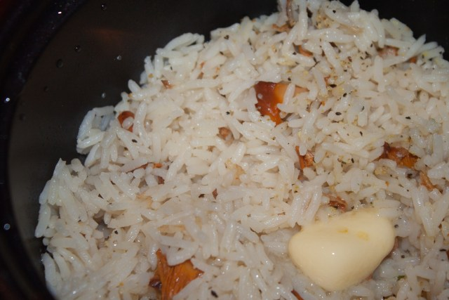 chanterelle rice