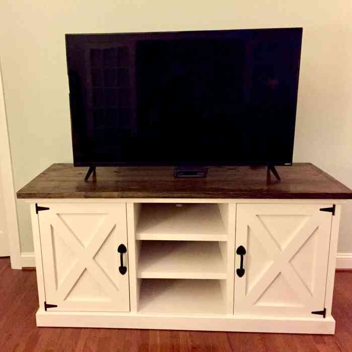 leanord media console by lazy guy diy