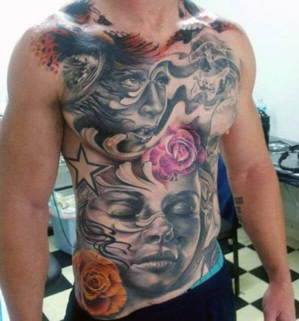 Top 40 Best Chest Tattoos For Men