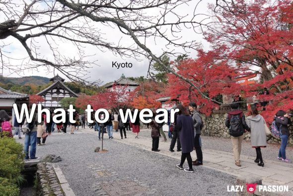 Japan Tips clothes