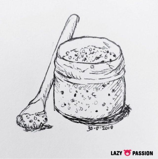 mustard sketch