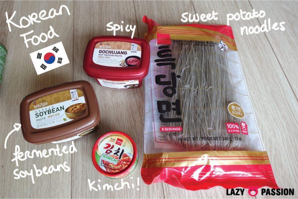 Amazing oriental haul korean food