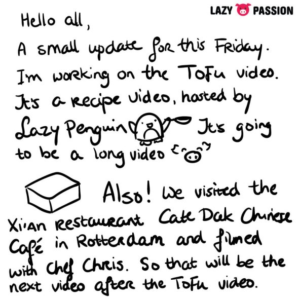 Tofu Video letter