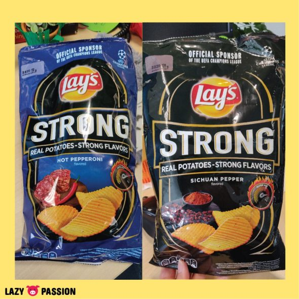 Polish Lays Chips Sichuan pepper spicy pepperoni