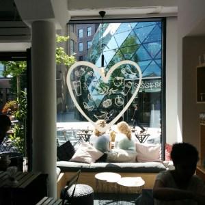 happinesscafe window