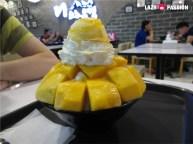mango shaved snow ice