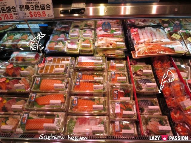 HK supermarket sashimi