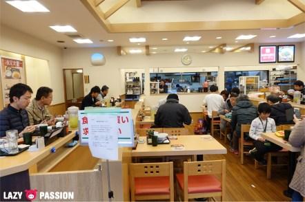 Japan restaurant fastfood