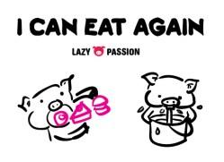 i can eat again