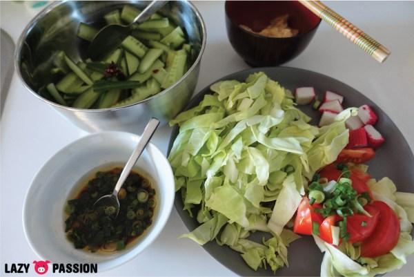ramen veggies