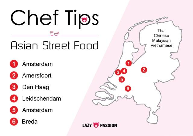 Chef tip asian street food nederland