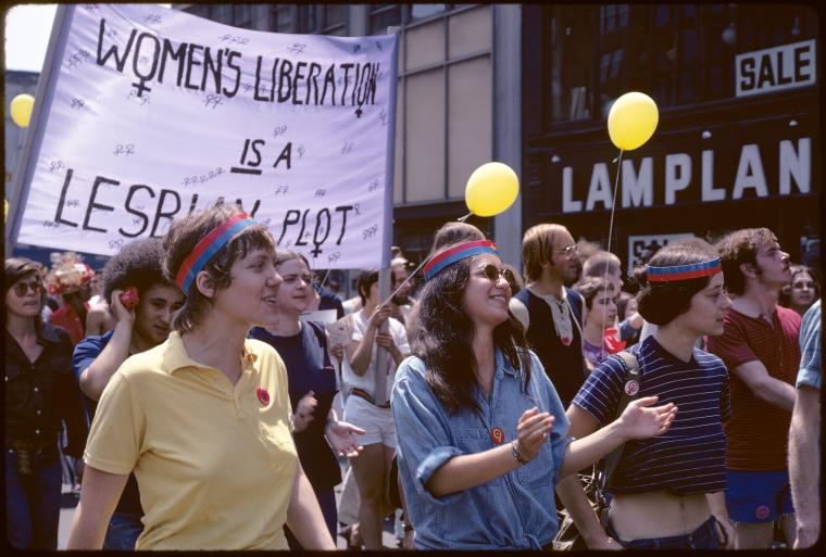 Christopher Street Liberation Day, June 20, 1971 [22]. Diana Davies, Stephen A. Schwarzman Building / Manuscripts and Archives Division, NYPL, Copyright Diana Davies, Digital ID: 1066141