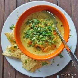 cauliflower mushroom soup