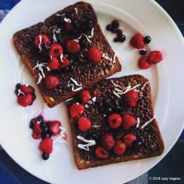 nutella-toast