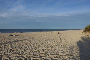 plaża w Chałupach, wakacje na półwyspie