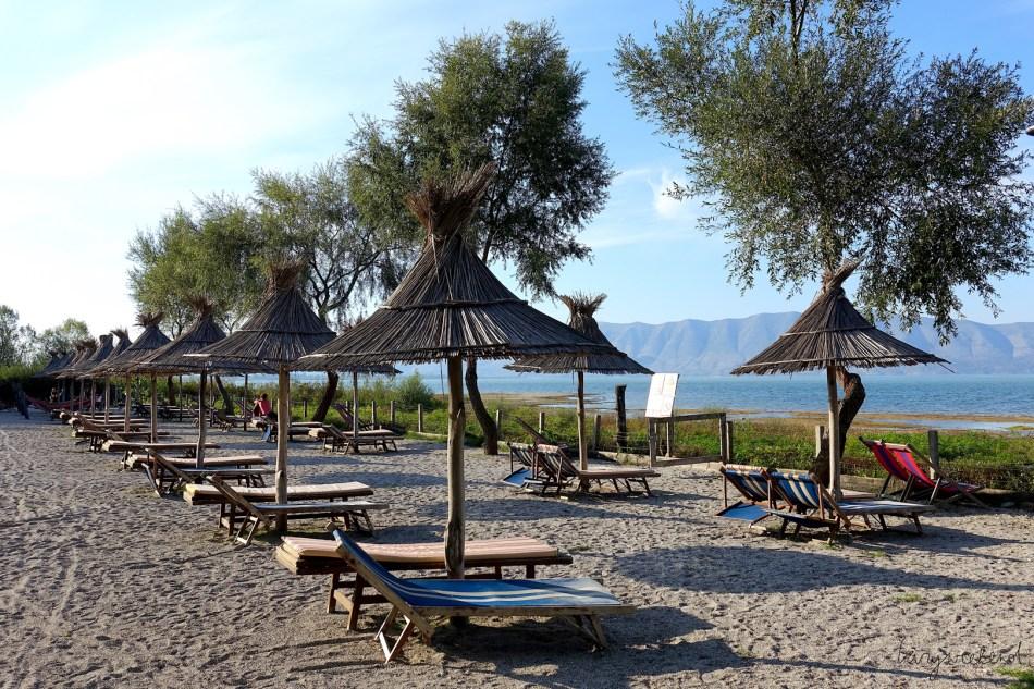 kemping nad jeziorem Szkoderskim Lake Shkodra Resort