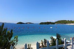 Albania, Ksamil, plaża