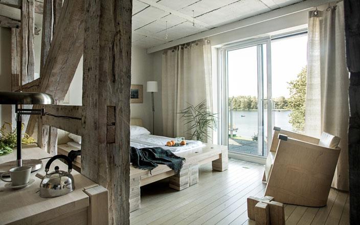 hotel Galery69 weekend na Mazurach design