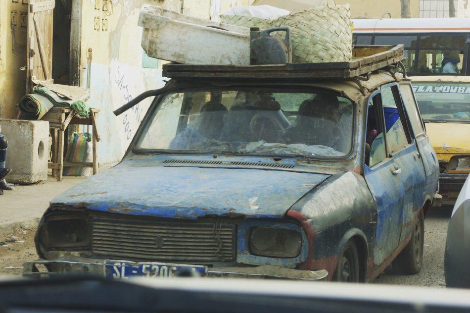 Senegal samochody