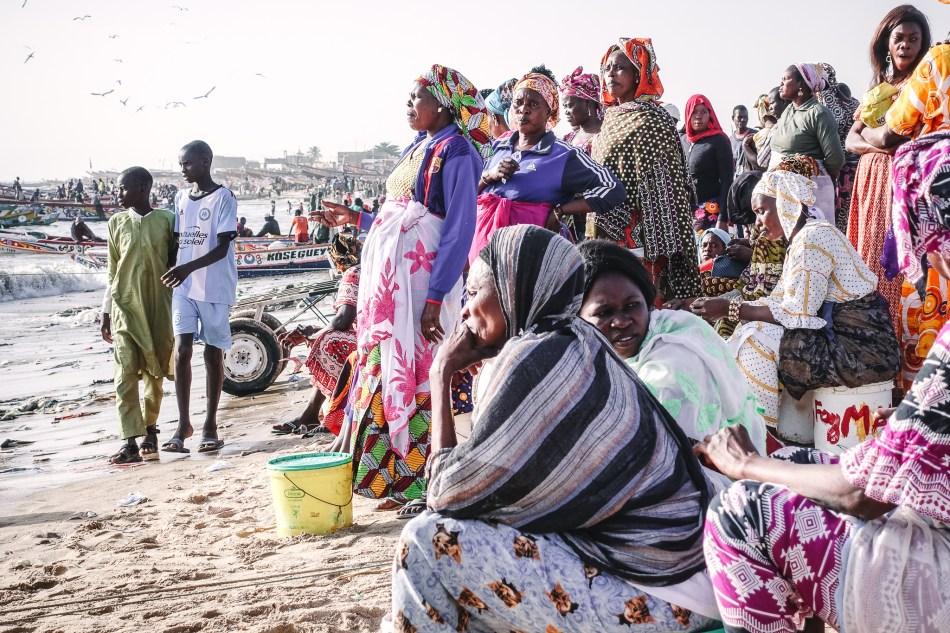 Senegal port w Mbour