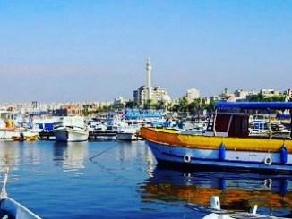 Tripoli's distinctive port
