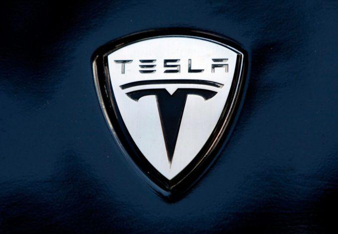 Tesla's original logo   Win McNamee via Getty Images