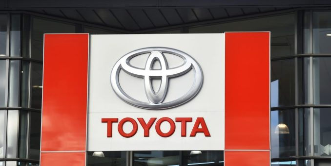 The Toyota logo | Nathan Stirk/Getty Images