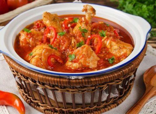 Грузинское блюдо чахохбили