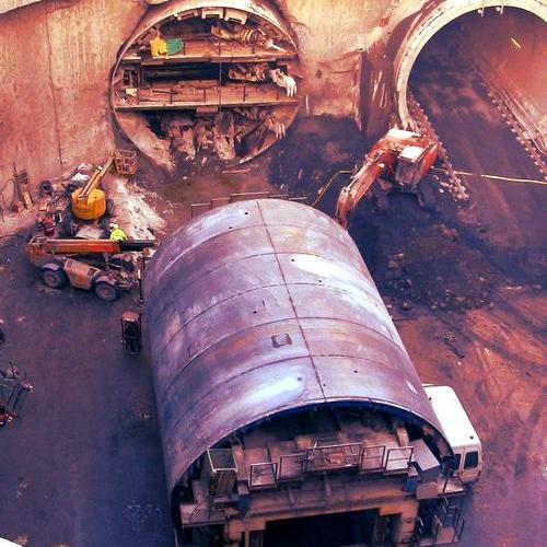 LBA Digging Dublin Port Tunnel