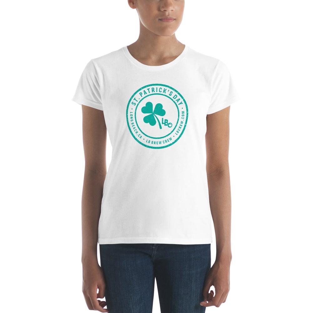 St. Patrick's Day | Long Beach Ladies T-shirt