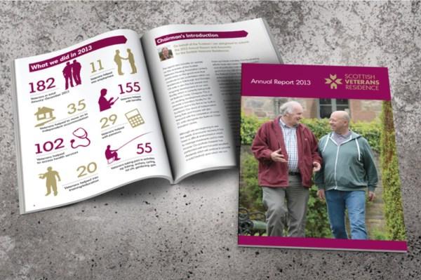 Scottish Veterans Residences | design and print | LBD Creative