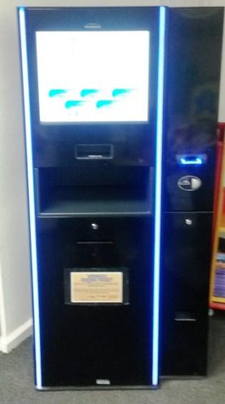 On the kiosk