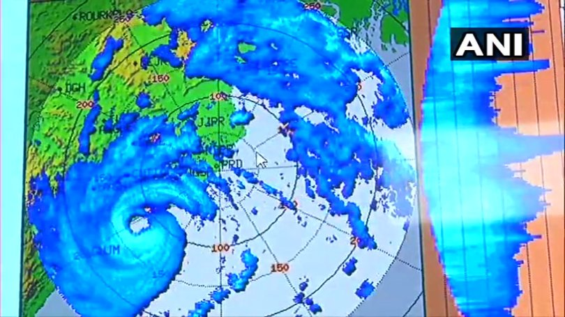 Winds in Puri, Odisha are blowing at a maximum speed of 240-245 km per hour and heavy to very heavy rains are continuing over the Odisha coast. After landfall, the impact is likely to reduce and it is likely to move towards West Bengal coast.
