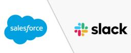 Logos de Salesforce et Slack