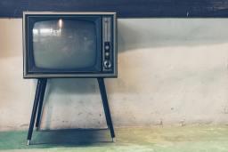 vieux poste de télé