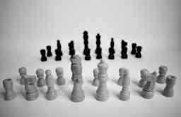 Pièces de jeu d'échec